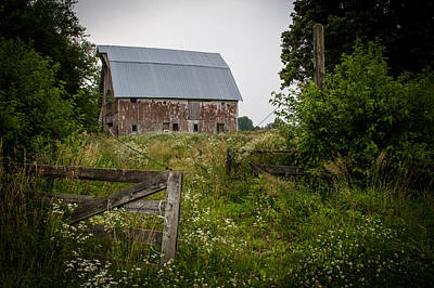 Forgotten Farm  Poster by Off The Beaten Path Photography - Andrew Alexander