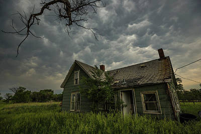Poster featuring the photograph Forgotten Mammatus  by Aaron J Groen