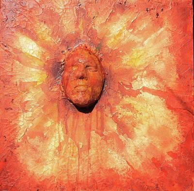 Forgotten Sun God Poster by Mark SWAIN