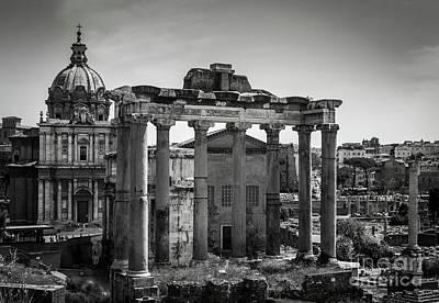 Foro Romano, Rome Italy Poster