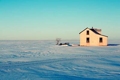 Forsaken Farmhouse Poster by Todd Klassy