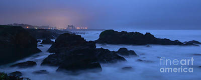 Fort Bragg Long Exposure Seascape I Poster