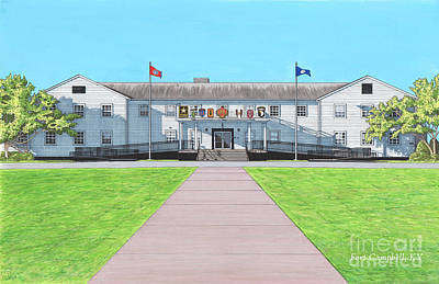 Fort Campbell Garrison Headquarters Poster