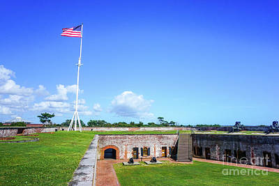 Fort Macon State Park II Poster