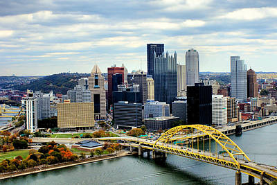 Fort Pitt Bridge Poster