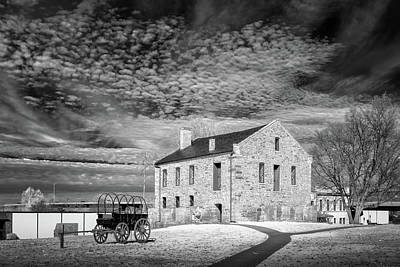 Poster featuring the photograph Fort Smith Historic Site by James Barber