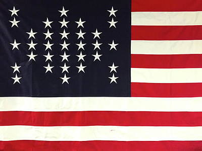 Fort Sumter Flag Poster