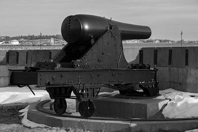 Fort Trumbull Cannon Poster