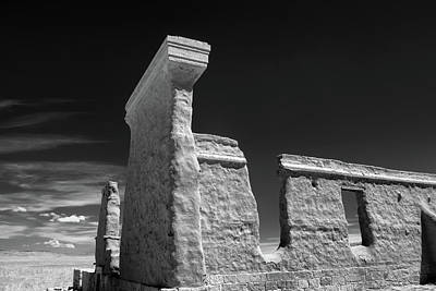 Fort Union Ruins Poster by James Barber