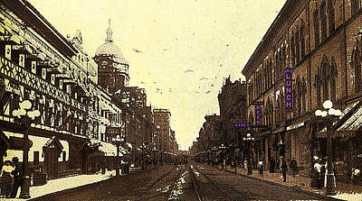 Fort Wayne Indiana 1913 Poster