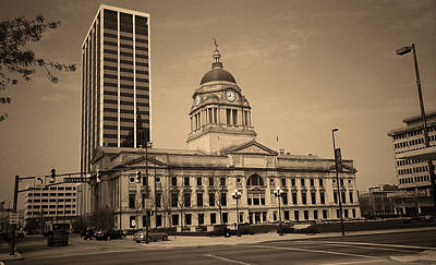 Fort Wayne, Indiana - City Hall 2 Poster