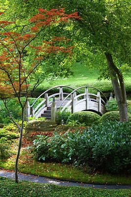 Fort Worth Botanic Garden Poster by Joan Carroll
