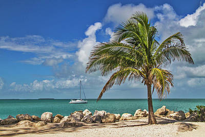 Poster featuring the photograph Fort Zachary Taylor State Park - Find Paradise In Key West Florida  by Bob Slitzan