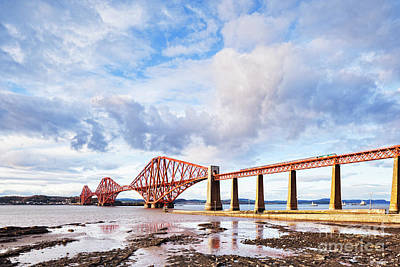 Poster featuring the photograph Forth Rail Bridge by Colin and Linda McKie