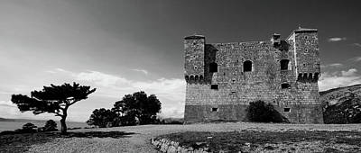 Poster featuring the photograph Fortress Nehaj In Senj by Davor Zerjav