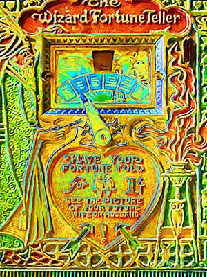 Fortune Teller Machine 20161108v2 Poster