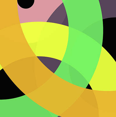 Forty -circle- Poster by Coded Images