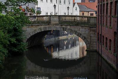 Foss Bridge - York Poster