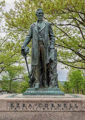 Founder - Ezra Cornell Poster