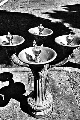 Fountain  Poster by Julie Boland