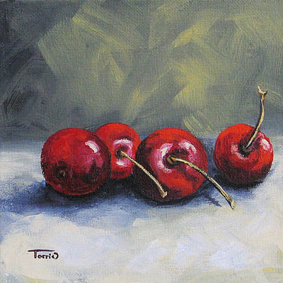 Four Cherries Poster