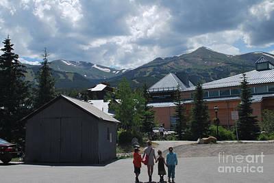 Four Little Children Safe In A Big Beautiful World Telluride Colorado Poster