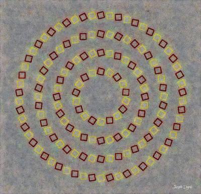 Fourcircles - Da Poster by Leonardo Digenio