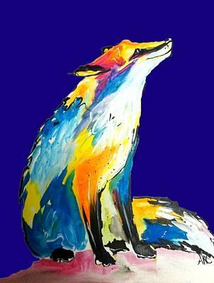 Fox Poster by Abbi Kay