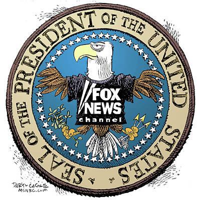 Fox News Presidential Seal Poster