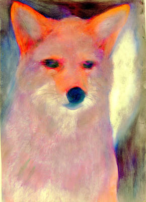 Fox Spirit Poster by FeatherStone Studio Julie A Miller