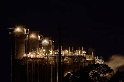 Poster featuring the photograph Fpl Natural Gas Power Plant  by Bradford Martin