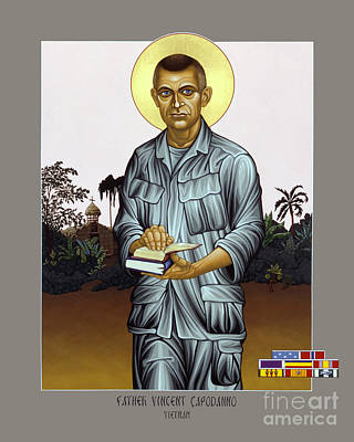 Fr. Vincent Capodanno, The Grunt Padre - Lwvcd     Poster