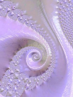 Fractal Of Pearl Poster