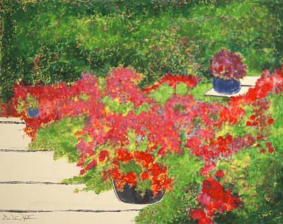 Fragrant Garden Poster