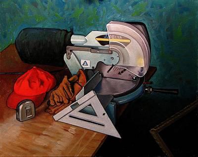 Framer's Tools Poster by Doug Strickland