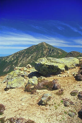 Franconia Ridge And Mount Lafayette Alpine Poster