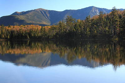 Franconia Ridge From Lonesome Lake Poster