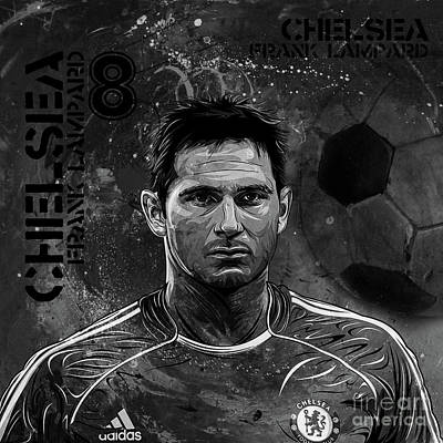 Frank Lampard 01  Poster by Gull G