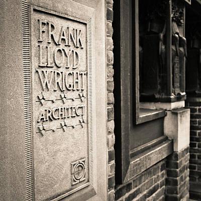 Frank Lloyd Wright's Studio Poster