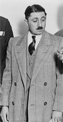 Frank Nitti 1881-1943 Chicago Gangster Poster