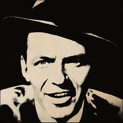 Frank Sinatra Poster by Alexey Bazhan