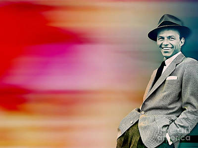 Frank Sinatra Poster by Marvin Blaine