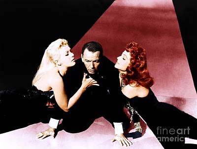 Frank Sinatra Publicity Photo For The Film Pal Joey. Poster by The Titanic Project
