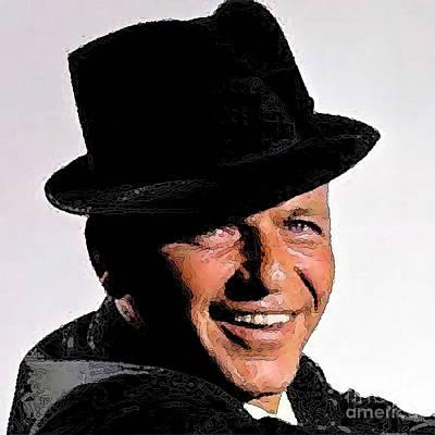 Frank Sinatra Poster by Rod Jellison