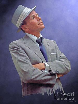 Frank Sinatra Poster by Stephen Shub