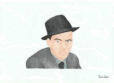 Frank Sinatra Poster by Toni Jaso