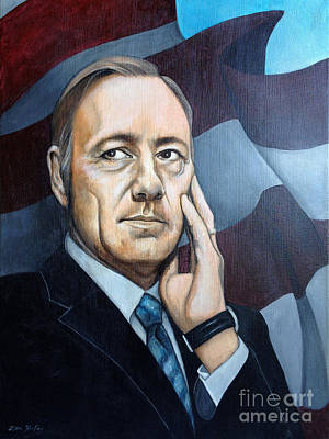 Frank Underwood Poster by Dori Hartley