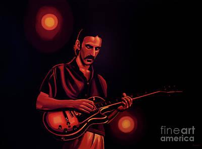Frank Zappa 2 Poster by Paul Meijering