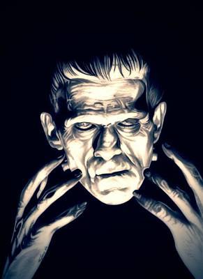 Frankenstein Poster by Fred Larucci