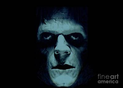 Poster featuring the photograph Frankenstein by Janette Boyd